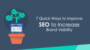 SEO increase brand visiblity