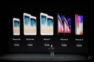 apple event - iPhone x