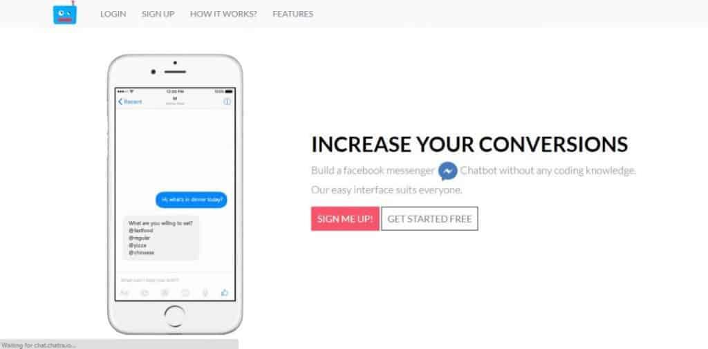 Top 6 Powerful Platforms to Build a Messenger Bot (Non-Coding Chatbot Platforms) 4