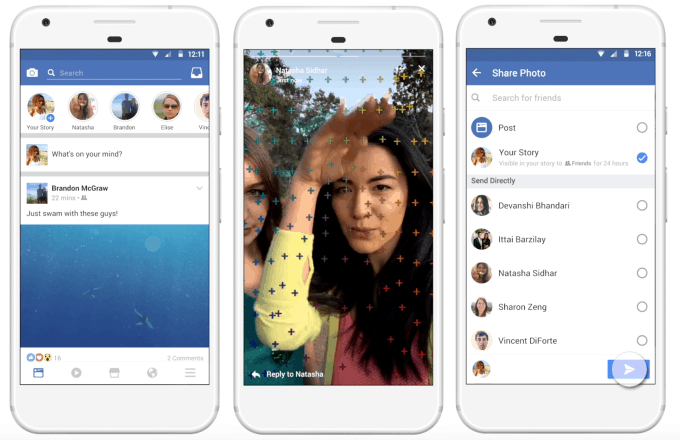 Facebook Mobile App Feeds are going to be more like Snapchat Stories 4