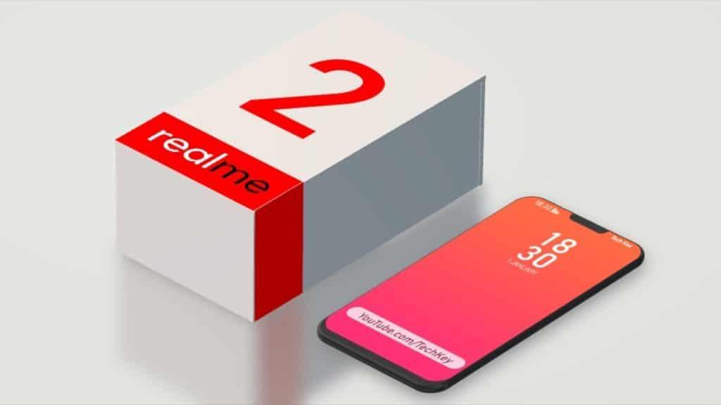RealMe 2 smartphones