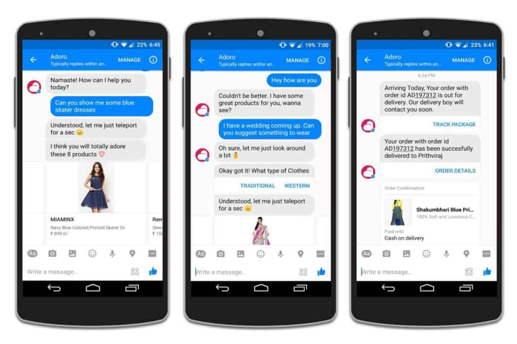 Use Chatbots to Streamline Product Purchases