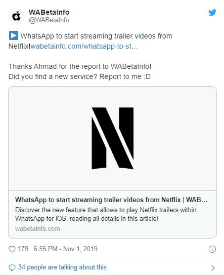 whatsapp-netflix-stream-support