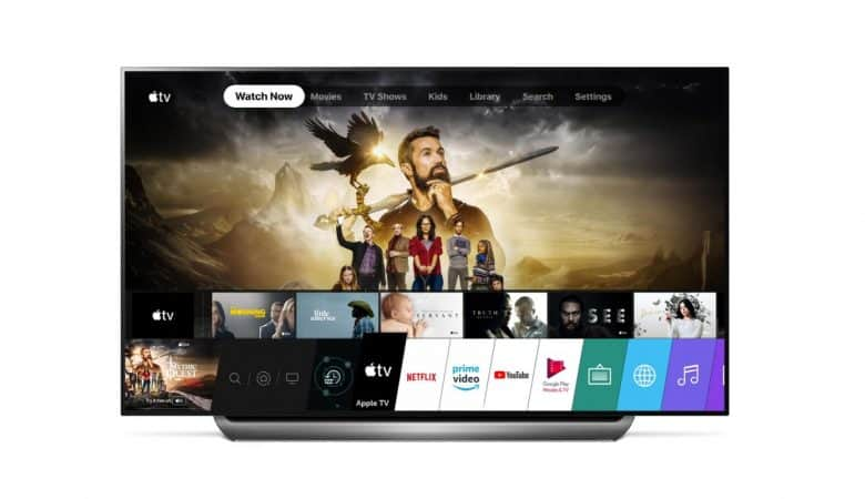 LG is now launching the Apple TV app