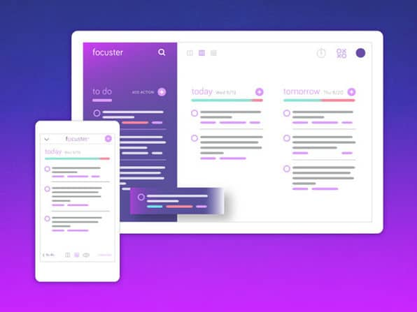 Focuster Productivity App