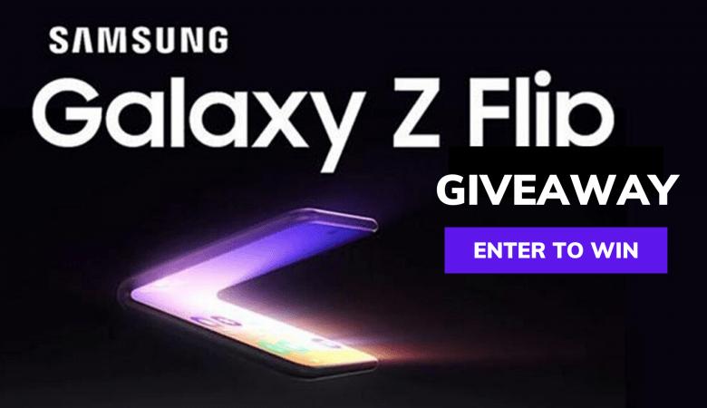 Samsung Galaxy Z Flip Giveaway