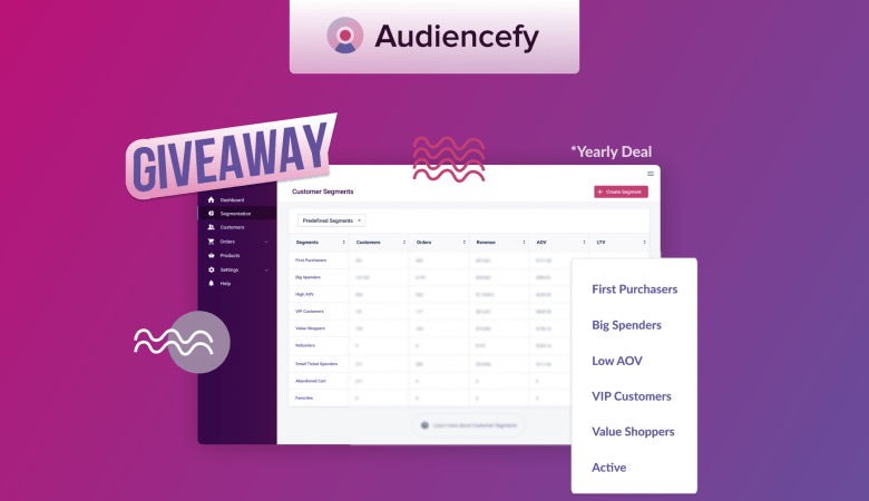 Audiencefy Giveaway