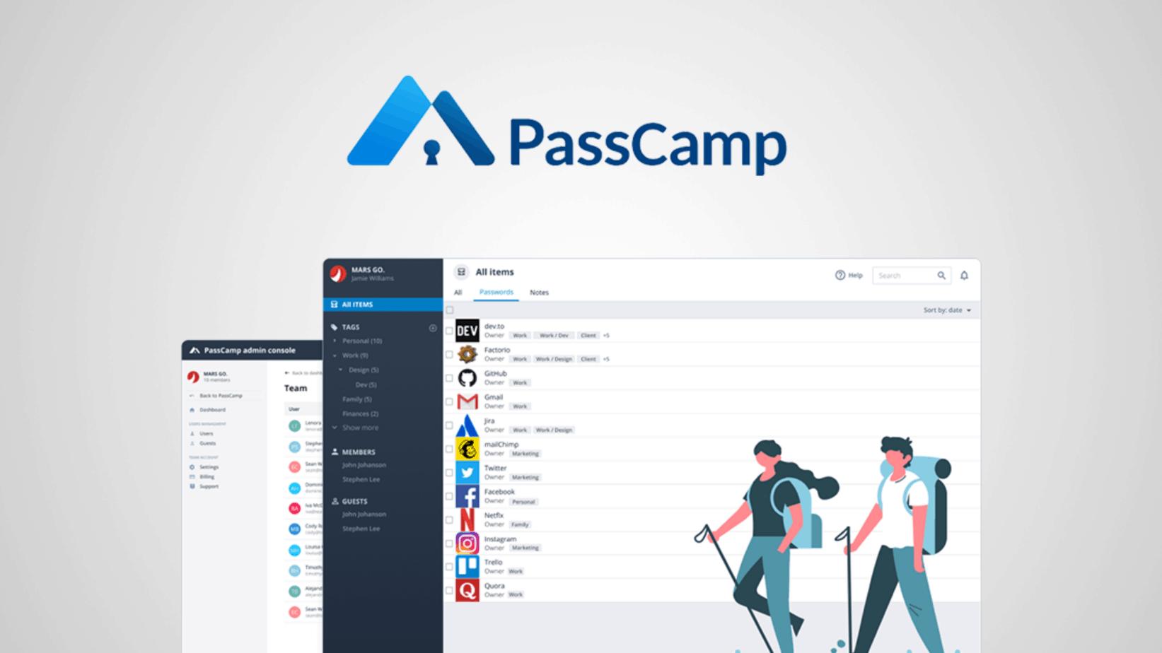 PassCamp Lifetime Deal Techlofy