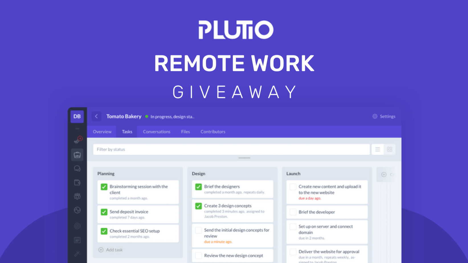 plutio giveaway Techlofy