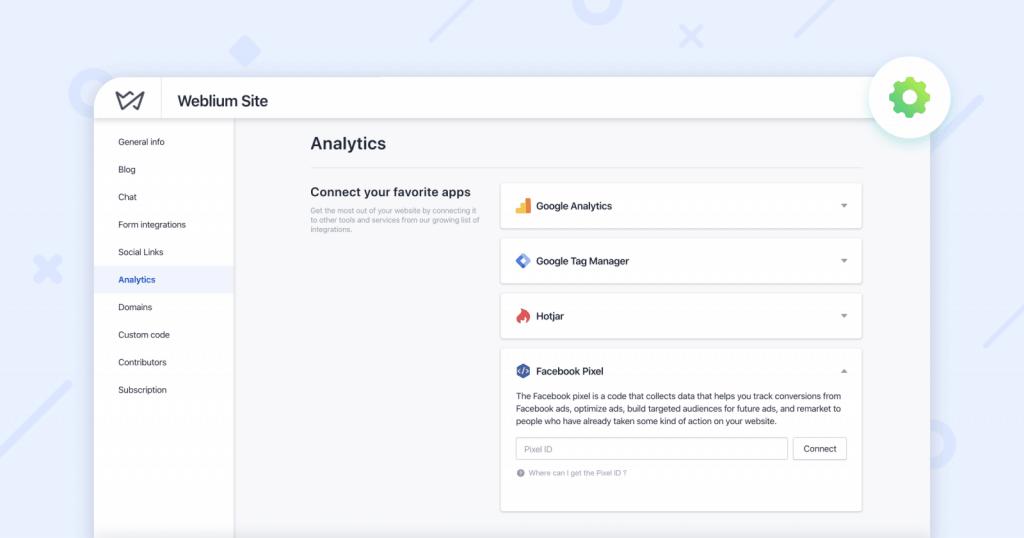 weblium-analytics