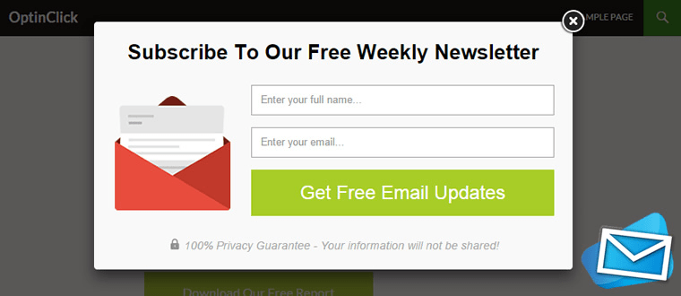 Make full use of opt-in forms