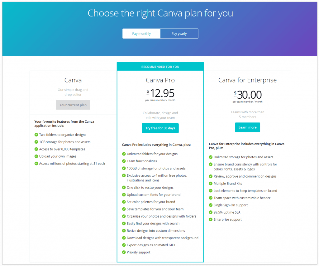canva-pricing