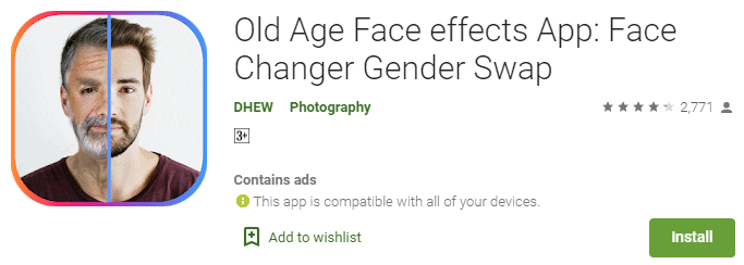 old-age-face-effects