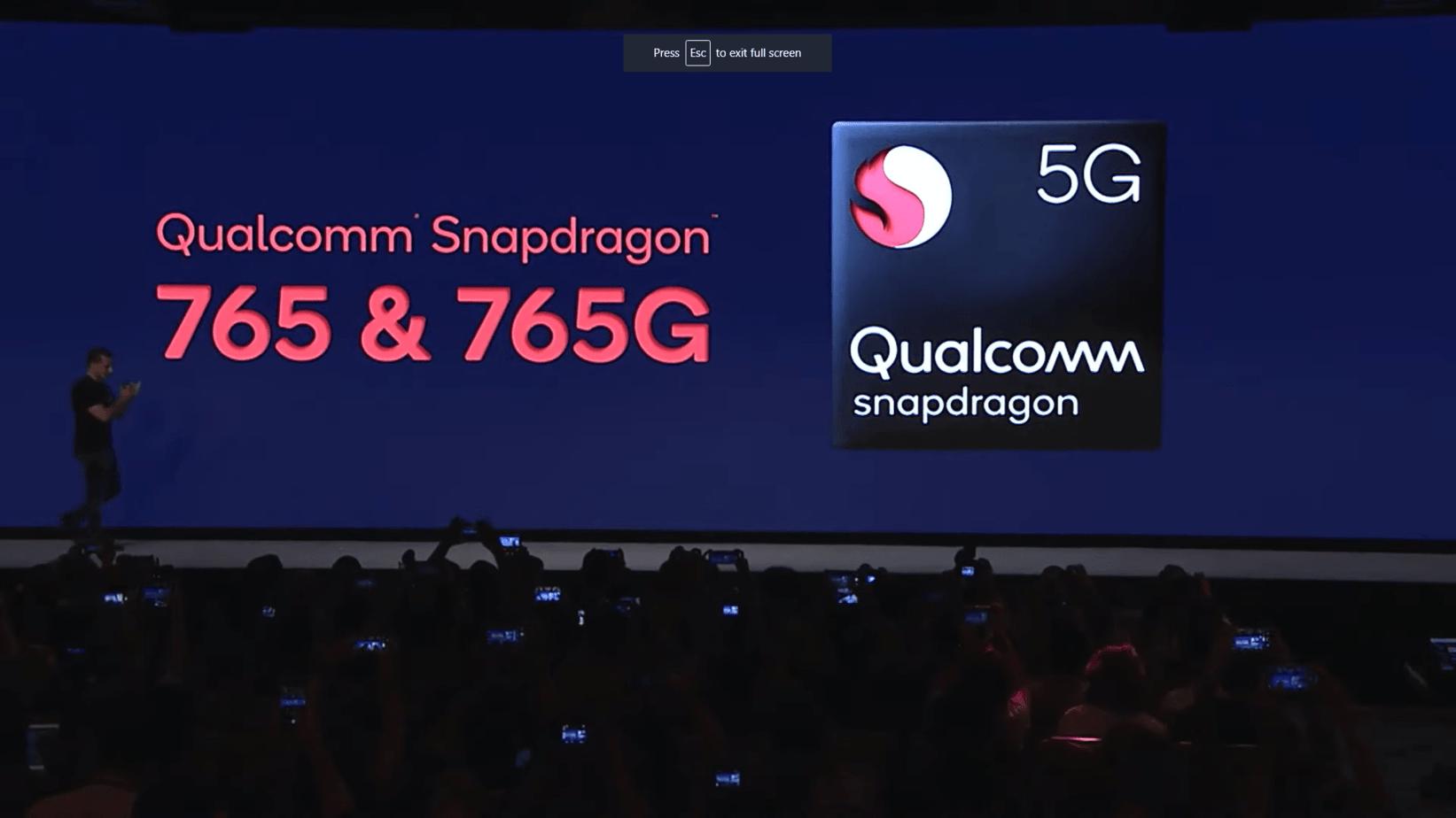 Google Pixel 5 Qualcomm Snapdragon 765 & 765G