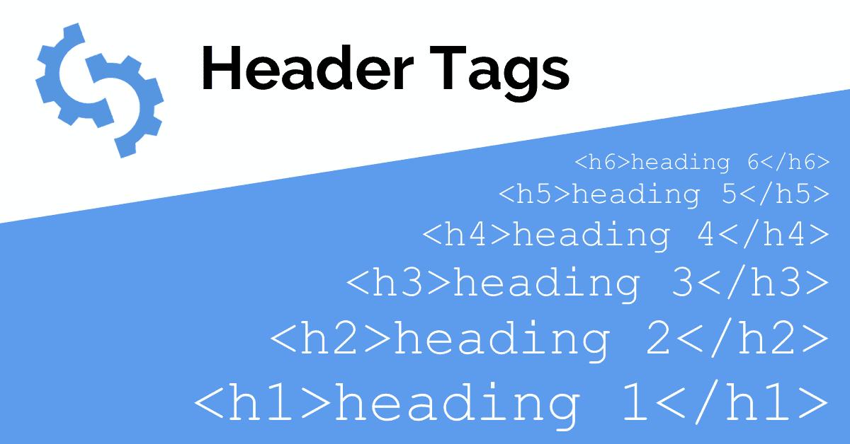 SEO Tips Header tags