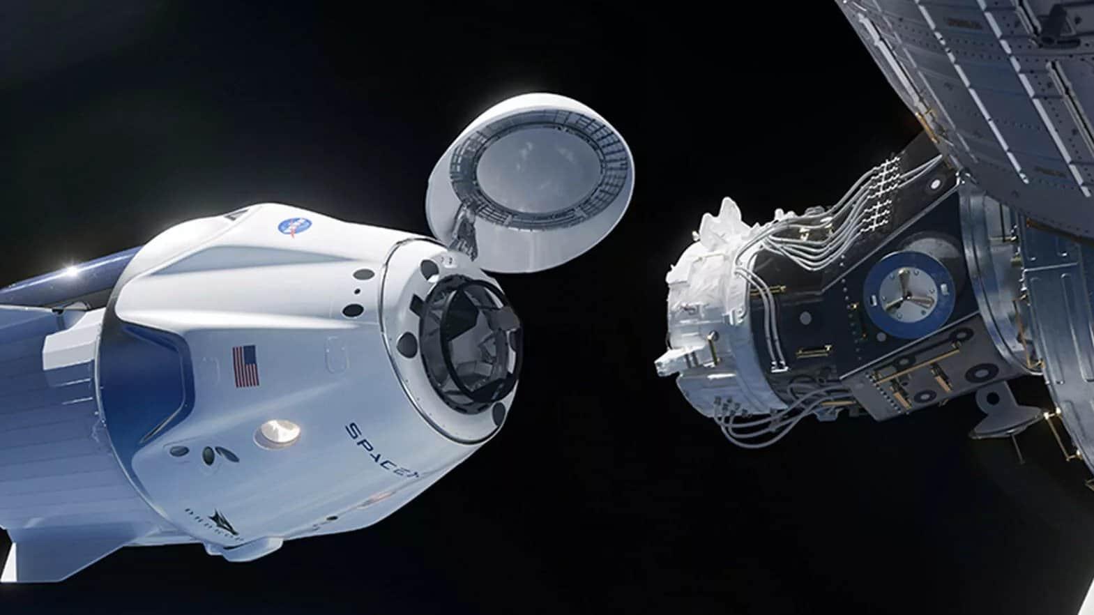 Spacex-Nasa-Crew-Dragon-Spacecraft