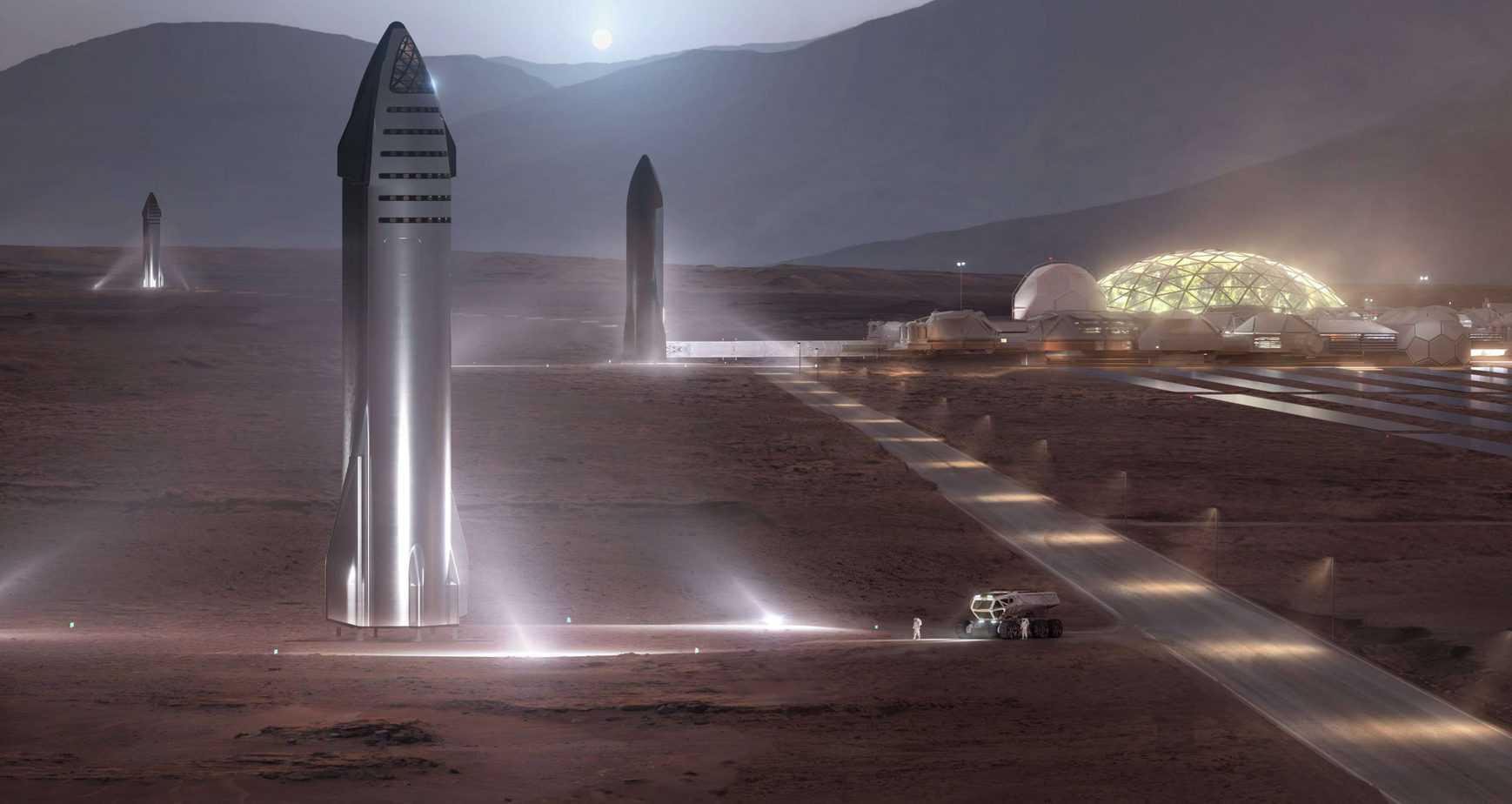 Starship-Mars-base-render-SpaceX