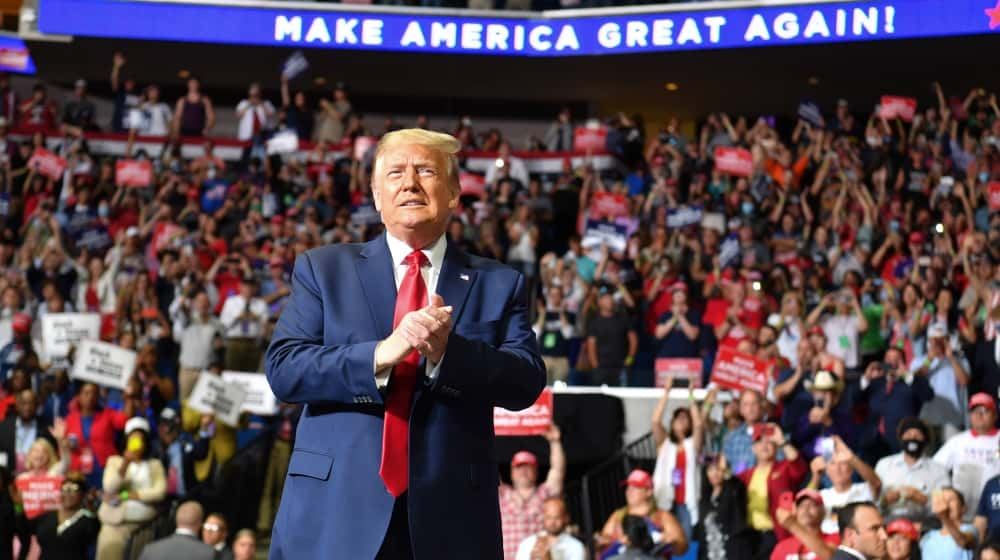 \TikTok teens and K-pop fans embarrass Trump at his Tulsa rally