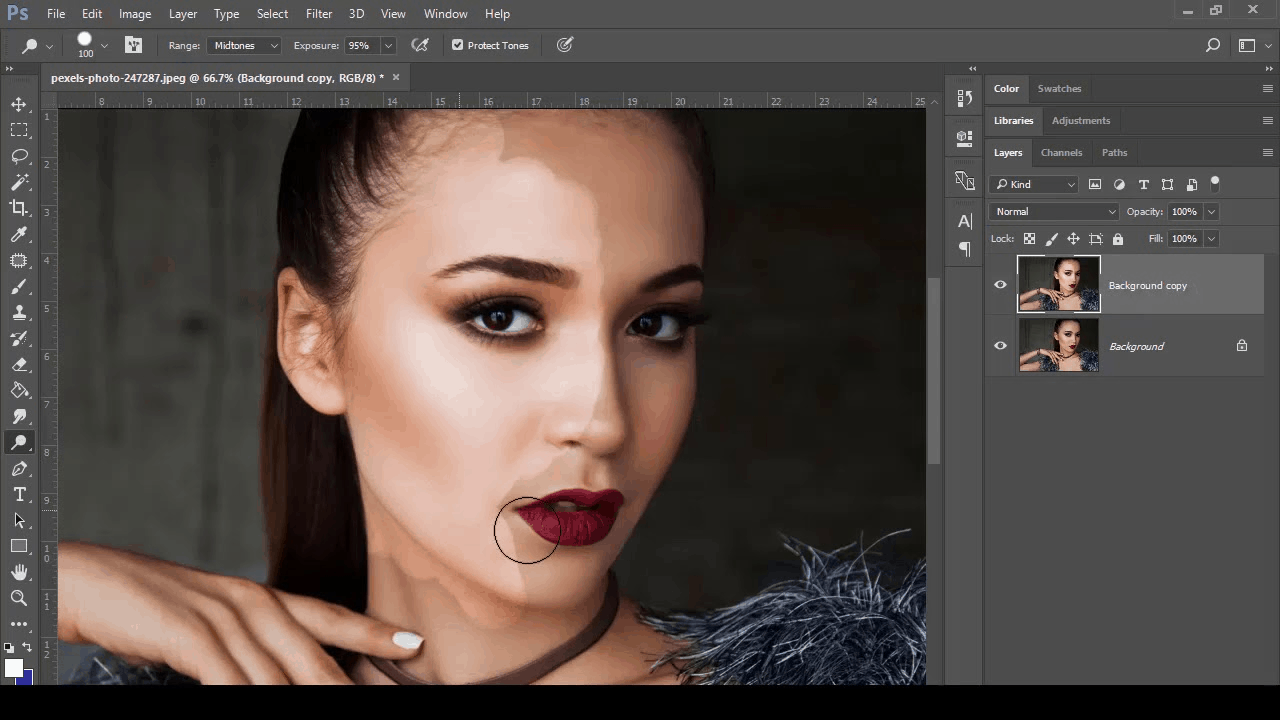 adobe photoshop hack 2- fixing color