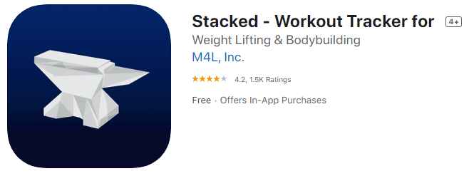 stacked