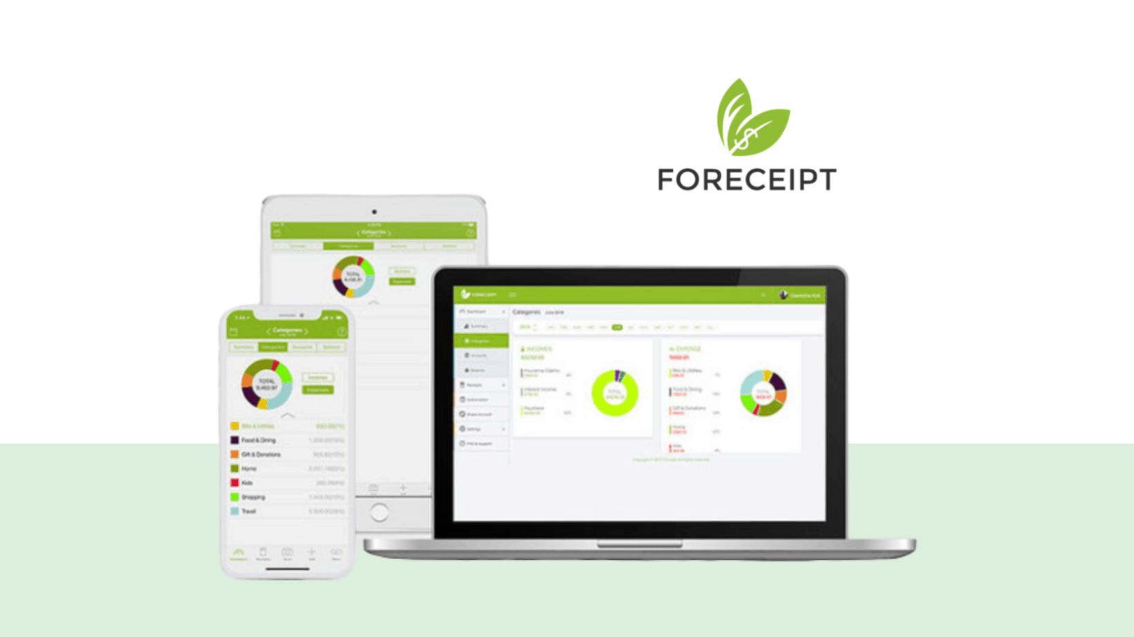 Foreceipt Receipt Tracker App deals techlofy
