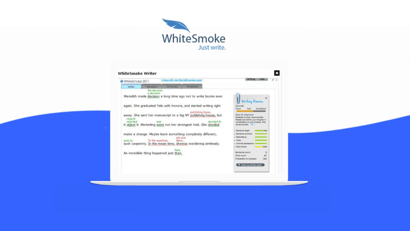 Whitesmoke 5 year Deal
