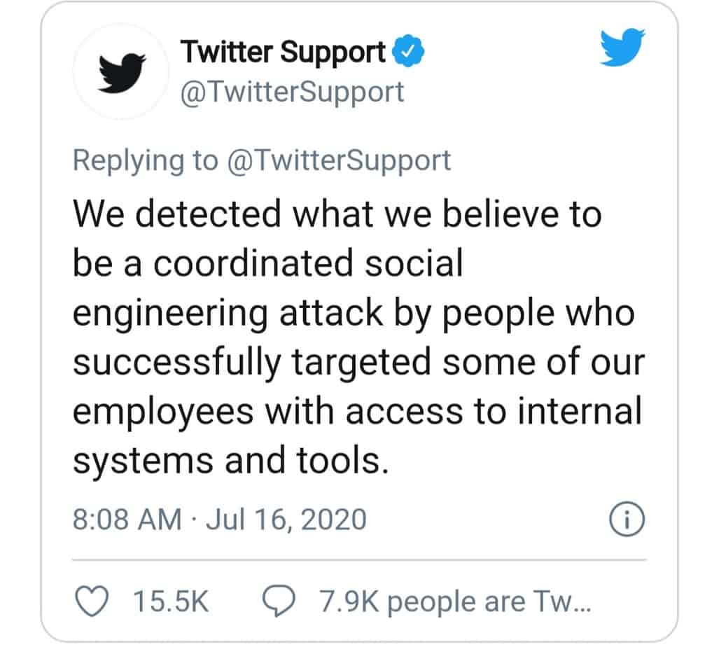 mystery of recent cyberattack( twitter's tweet)