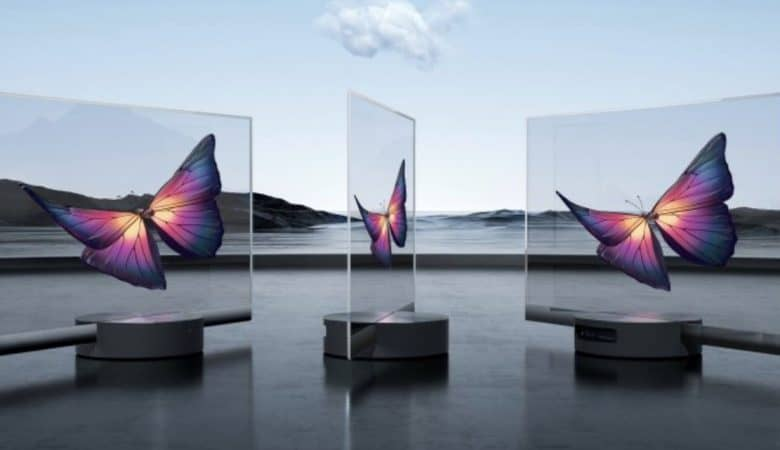 Xiaomi's see-through OLED TV