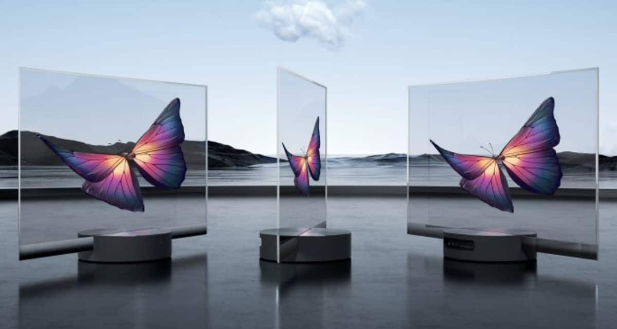 Xiaomi's see-through OLED TV