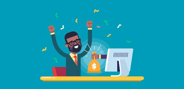 affiliate marketing (source of passive money