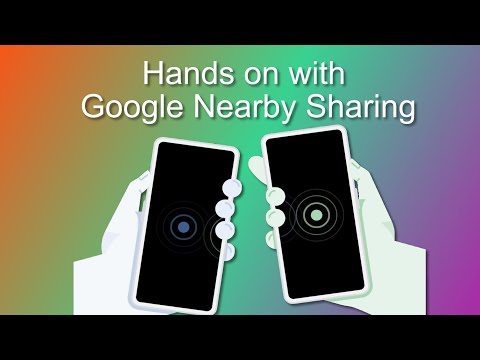 google nearby share (about