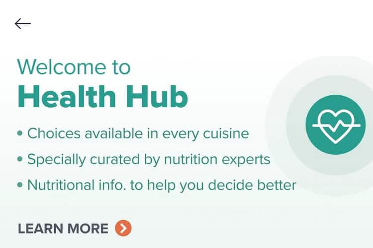 health hub (about features)