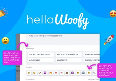 Streamline your Social Content Automation and Creation Powered by AI with HelloWoofy 7