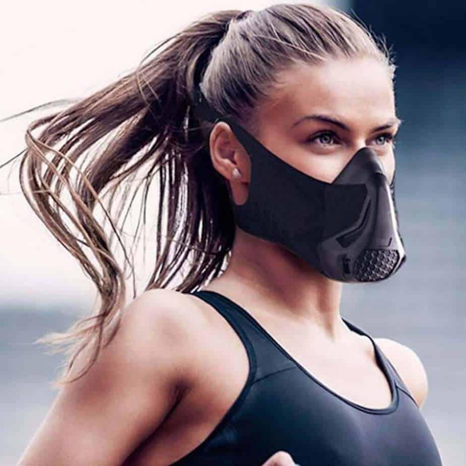 Elevation Resistance Training & Cardio Workout Sports Mask