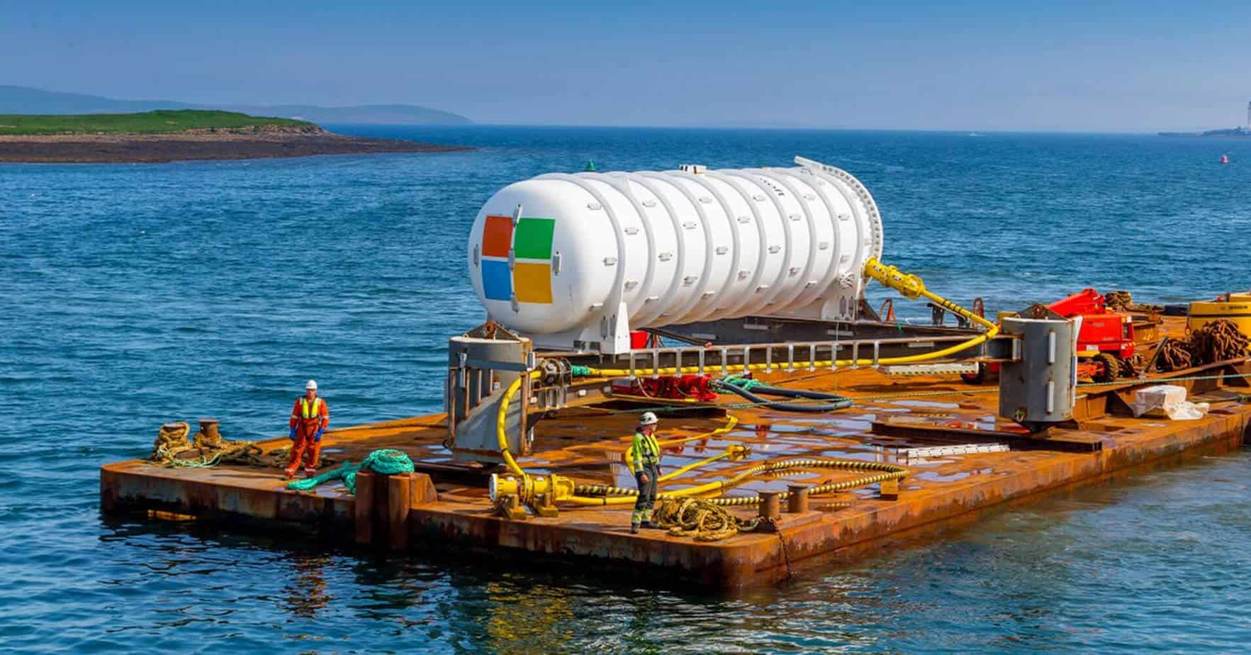 Microsoft's underwater server experiment resurfaces after 2 years