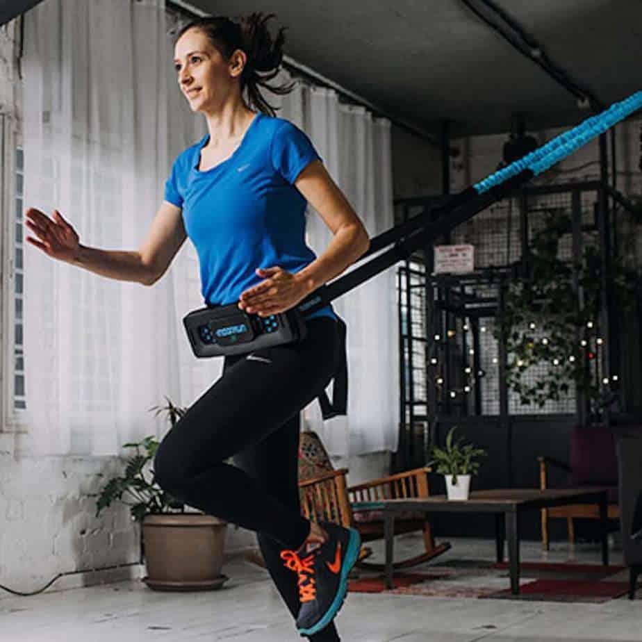 MoonRun Portable Cardio Trainer with Virtual Running Apps