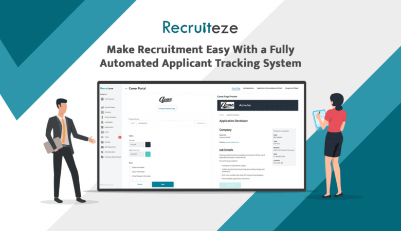Manage your Entire Hiring Process with Recruiteze Recruitment CRM 4