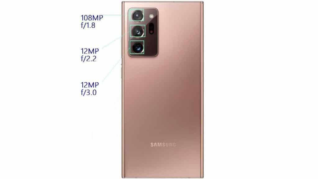 Samsung Galaxy note 20 ultra (camera