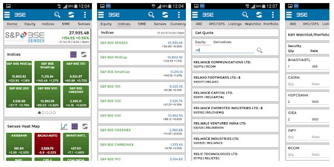 top apps for stock market (bse