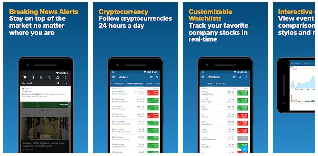 top apps for stock market (cnbc app