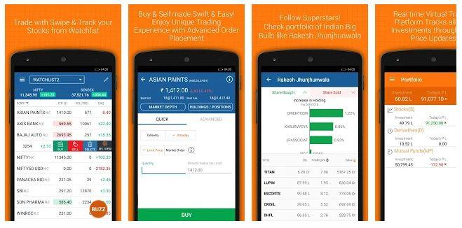 top apps for stock market (iifl
