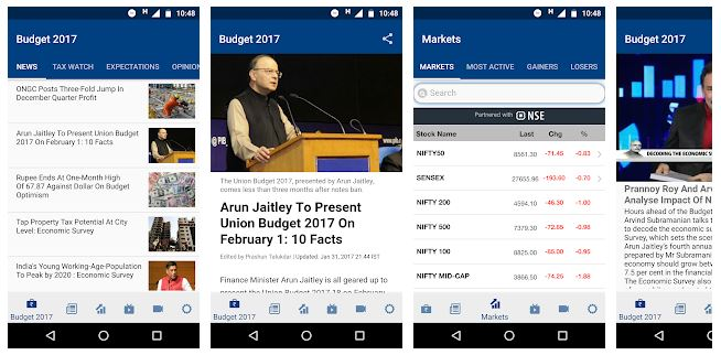 top apps for stock market (ndtv
