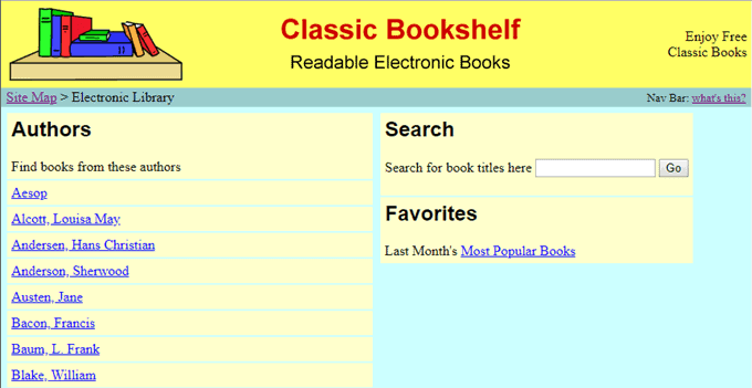 top digital Libraries(classic bookshelf