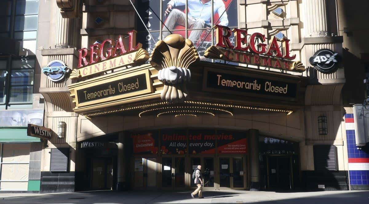 Regal is closing all cinemas in the US and UK on Thursday