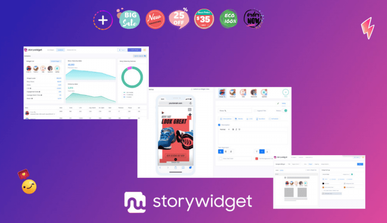 Create your Stories in Seconds & Embed them on your Website with StoryWidget 8