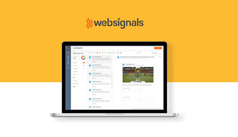 Monitor Your Brand & Competitors with Websignals Social Listening Tool 4
