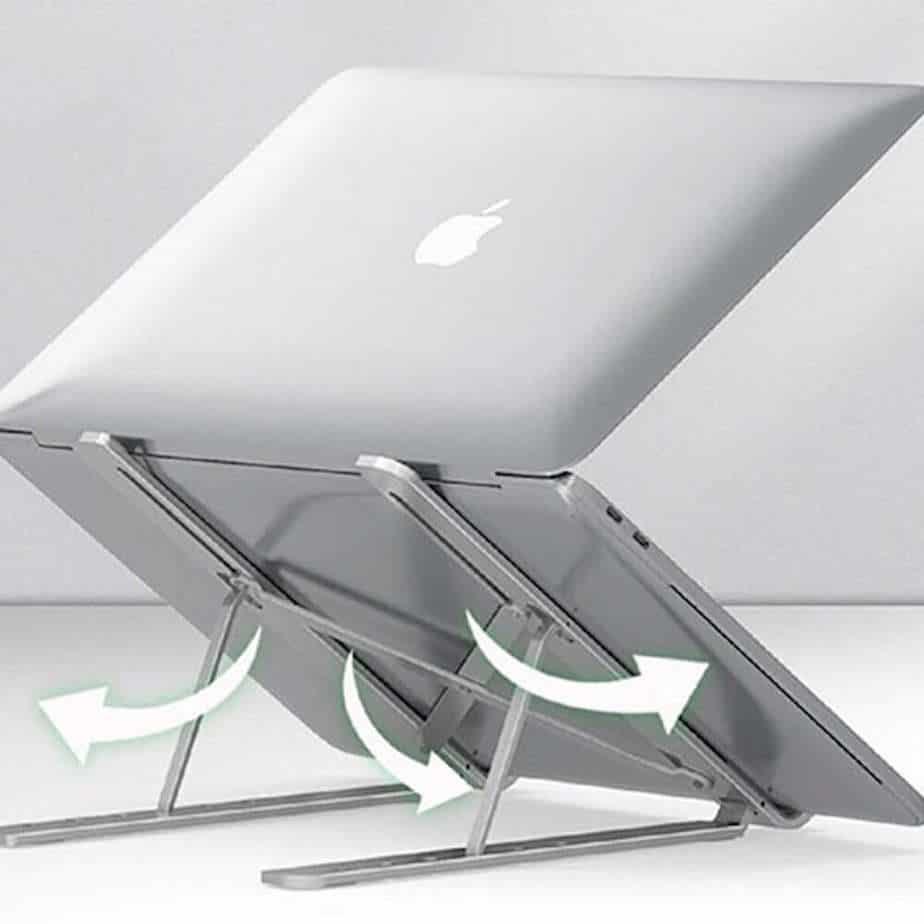 AluminumPortableFoldableLaptopStandBody