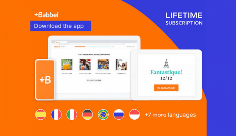 Babbel Language Learning Lifetime Deal