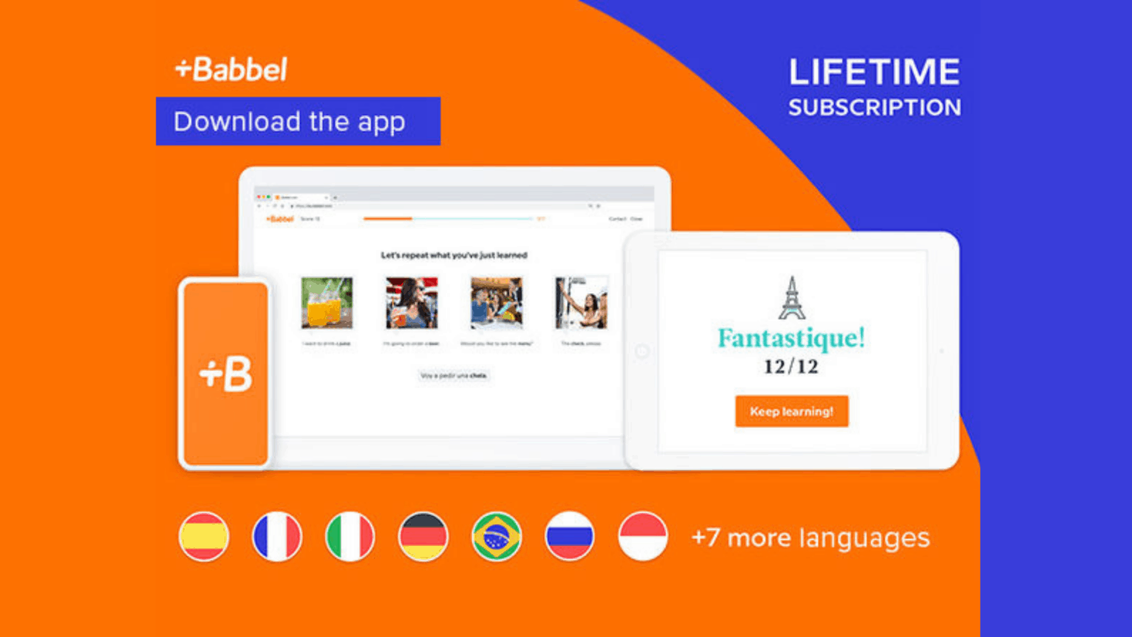 Babbel Language Learning Lifetime Deal