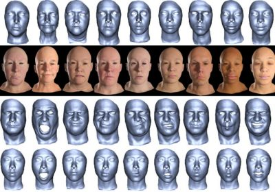 Flexible expressions could lift 3D-generated faces out of the uncanny valley 1